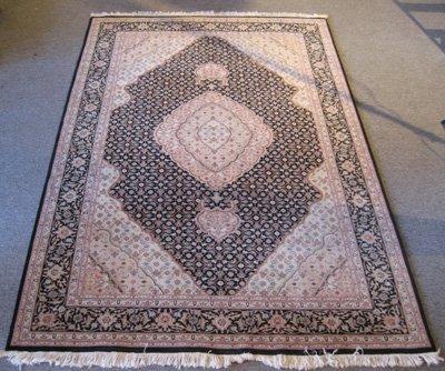 Persian Silk & Wool Tabriz Design