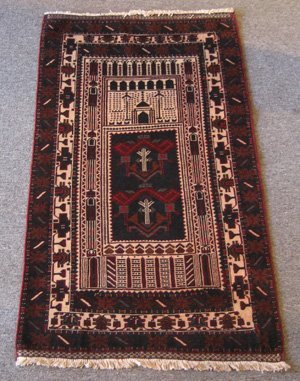 Persian Baluch Prayer Rug