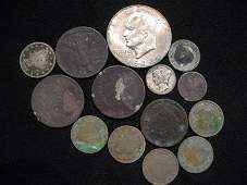 Collection of miscellaneous U.S. coins