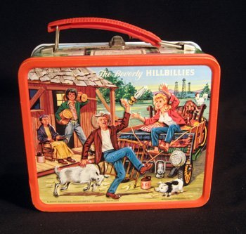 Vintage Beverly Hillbillies tin lunchbox  - EXCELLENT