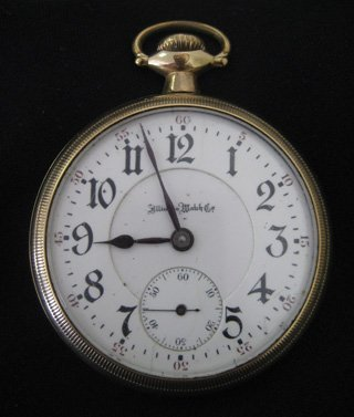 Elgin hunting case and Illinois open fact pocket watch