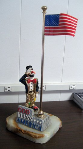 Limited edition Ron Lee clown figurine