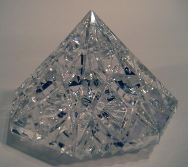Waterford crystal paperweight