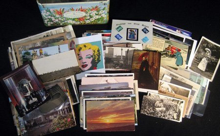 Approx. 250 postcards, greeting cards and photographs