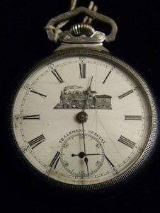 Vintage 23 Jewel Trainmens Special Pocket Watch