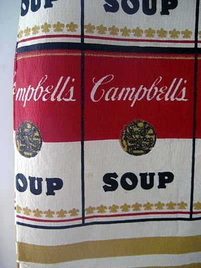 Rare Vintage Andy Warhol Campbell's Soup Paper Dress - 3
