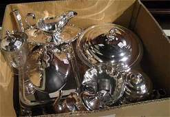 Collection of miscellaneous silverplated items