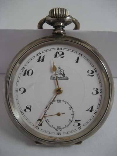 Two open face pocket watches