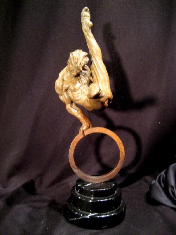 "Original Richard MacDonald ""Gymnast"" Bronze Sculpture"