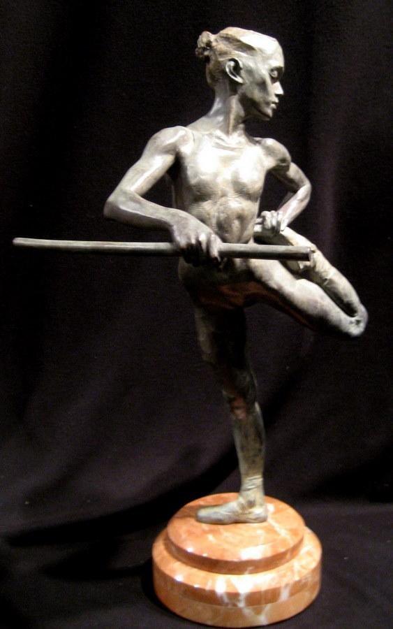 Original Richard MacDonald Ballerina Bronze Sculpture