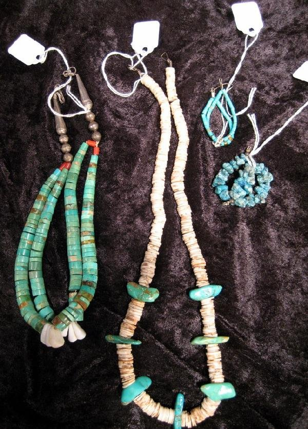 Collection of Turquoise Jewelry