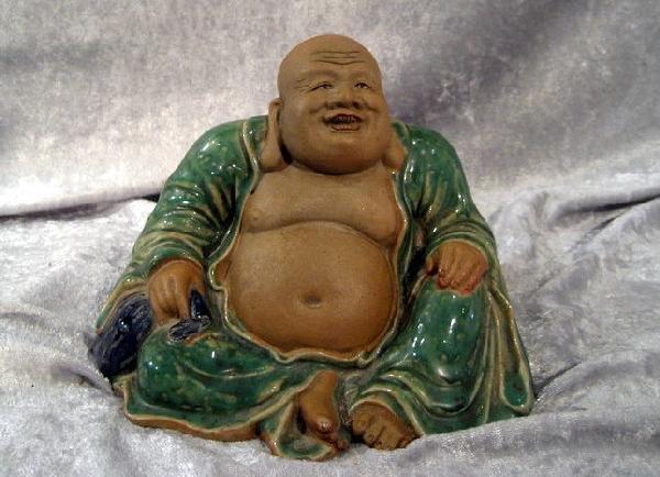 Ceramic Figurine of Buddha