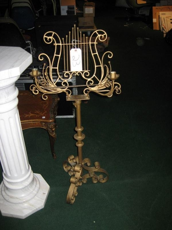Gilded Music Stand
