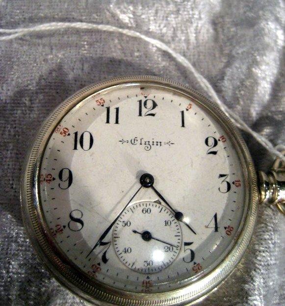 1880's 11 Jewel Elgin Pocket Watch