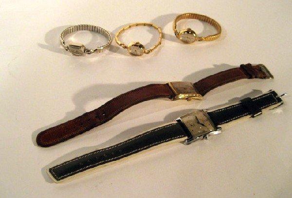 5 Miscellaneous Wrist Watches