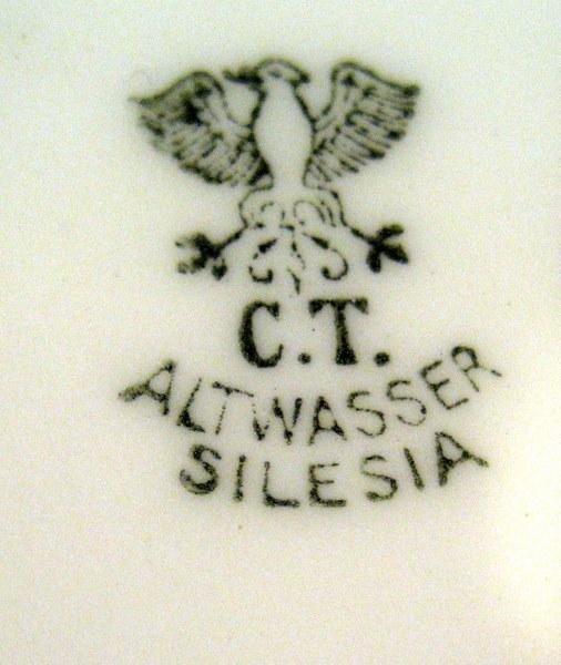 2 Hand Painted Vases: Noritake & C.T. Altwasser Silesia - 5