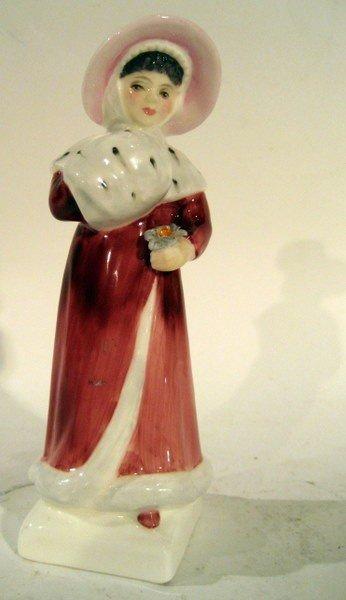 "Royal Doulton ""Sophie"" H.N. 2833 in Red Dress"