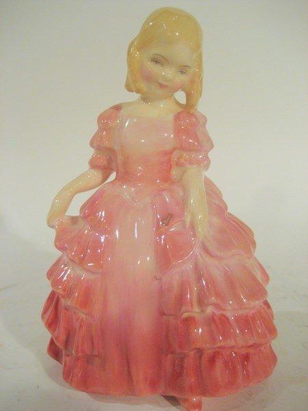 """Royal Doulton """"Rose"""" H.N 1368 in Pink Dress"""