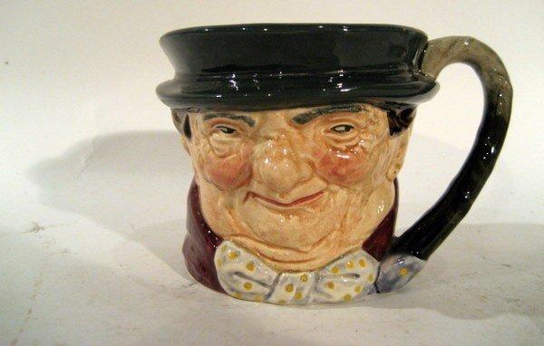 "Royal Doulton Mug ""Tony Weller"" w/ Green Mark"