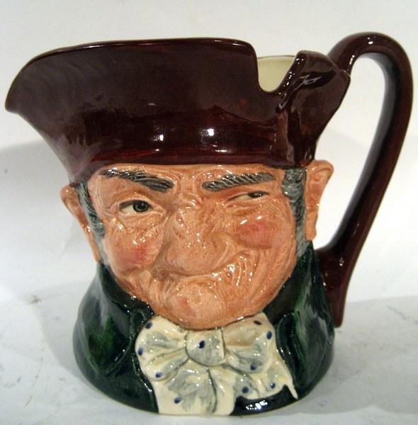 """Royal Doulton Character Jug """"Old Charley"""" GREEN MARK"""