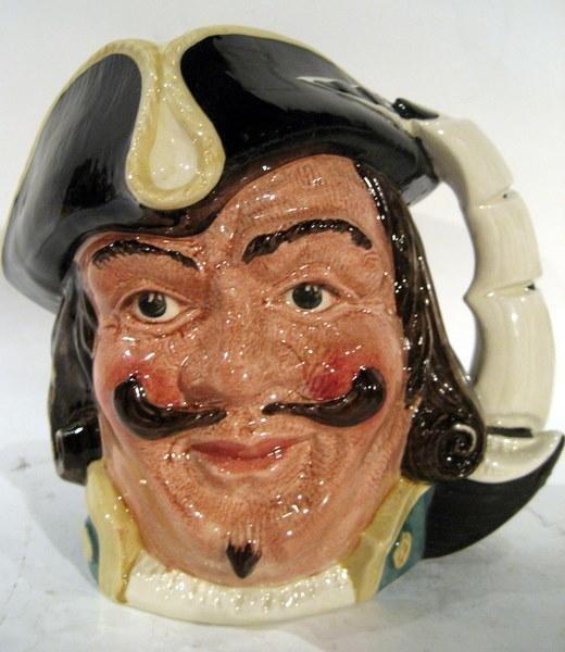 """Royal Doulton Character Jug """"Capt Henry Morgan"""""""