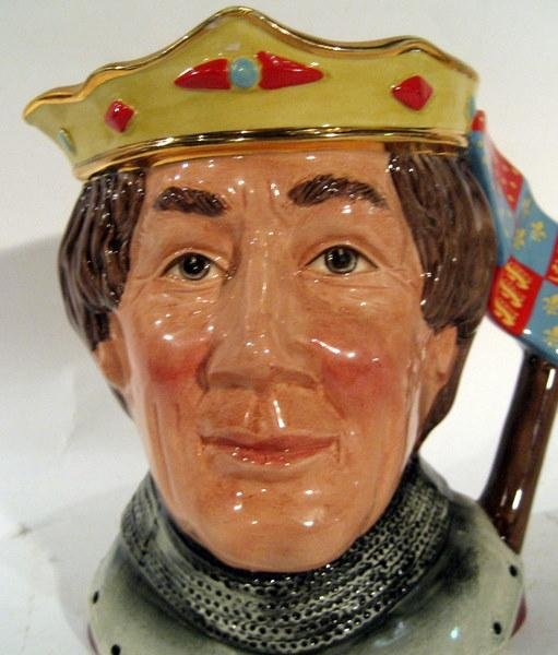"Royal Doulton Character Jug ""Henry V"", Shakespearean"