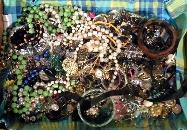 Costume Jewelry Collection Including Designer Pieces