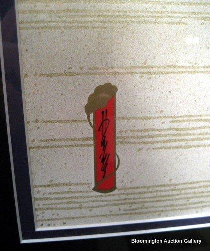 """Gary Hostallero """"White Horse Shogun"""", Signed & Framed - 2"""