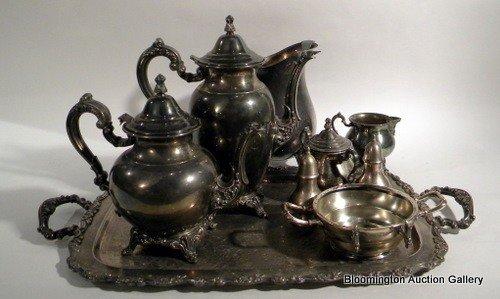Oneida Silver-Plated Coffee/Tea set