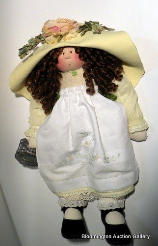 """Little Souls Painted Fabric Doll: """"Natalie"""""""