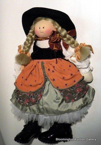"Little Souls Doll: ""Mother Goose"""