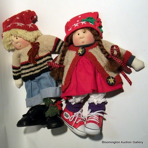 """Little Souls Dolls: """"Timothy"""" and """"Tina"""""""