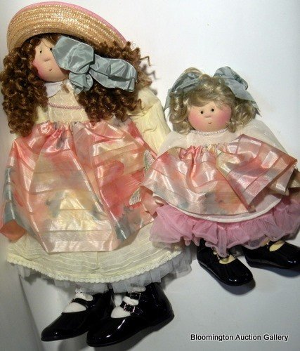 """Little Souls Dolls: """"Collette"""" and """"Peony"""""""