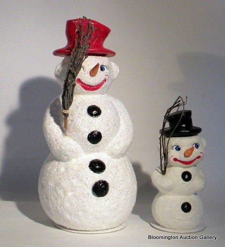 2 Christopher Radko Ltd. Ed. Figurines - Little Flake