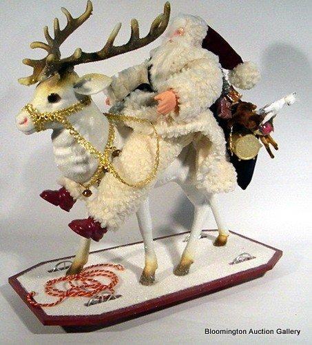 """Christopher Radko Ltd. Ed. """"Santa on Reindeer"""""""