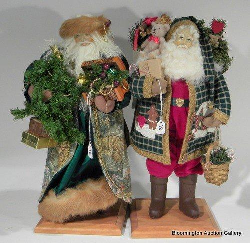 2 Lynn Haney Santas - Santa of Black Forest & ....