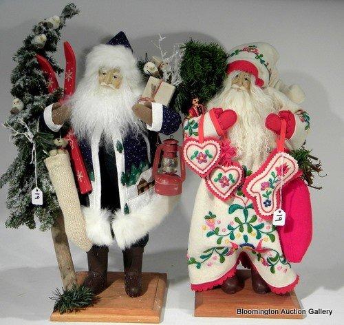 2 Lynn Haney Santas - Santa of Christmas Village& ...