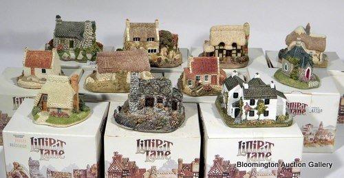 11 Lilliput Lane Houses -  Strawberry Cottage, Coblers,