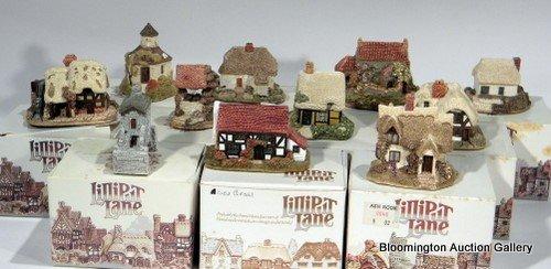 11 Lilliput Lane Houses -  April Cottage, Buttercup Cot