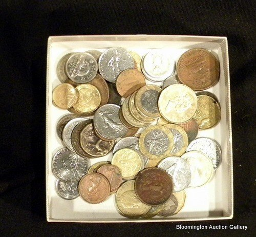 Collection of Misc Foreign Coins