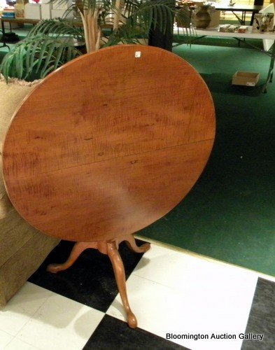 Tiger Maple Round Table