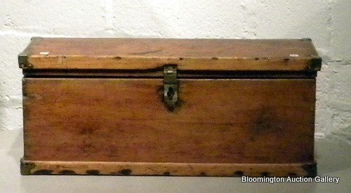 Primitive Wooden Carriage Box