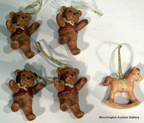 5 Goebel Magical Christmas Ornaments