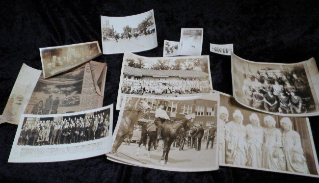 Collection of Early Bloomington Photos, Vintage