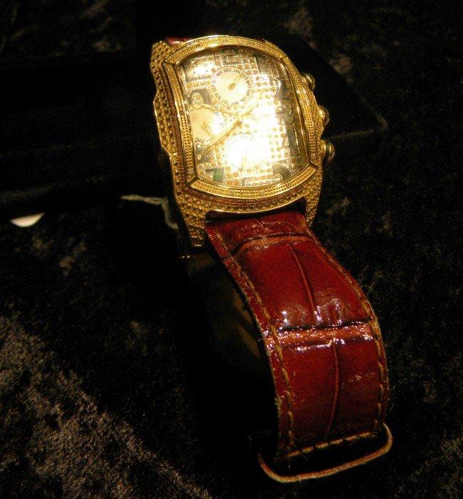 Ice Master Men's Diamond Encrusted Watch - 2