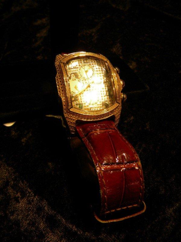 Ice Master Men's Diamond Encrusted Watch - 3