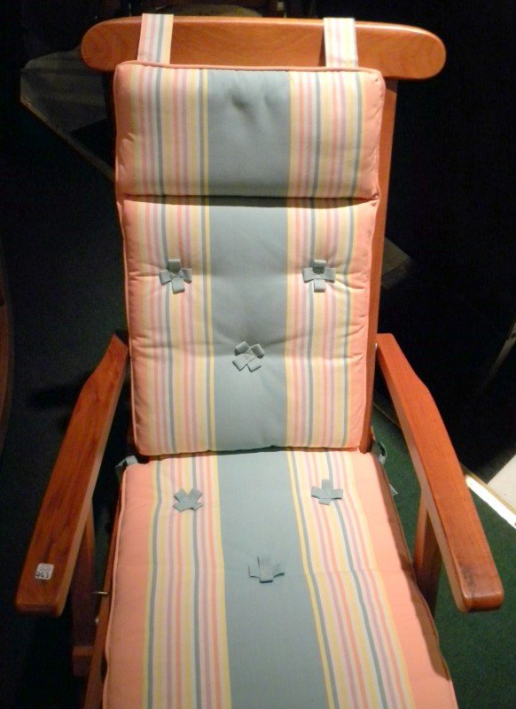 Queen Elizabeth Cruise Ship Deck Chair - 2