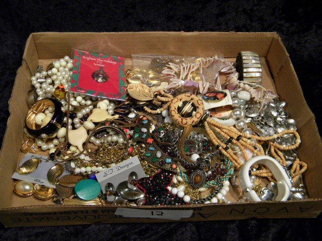 Lot of Costume Jewelry w/Designer Pieces
