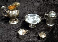 5 Sterling Silver Items