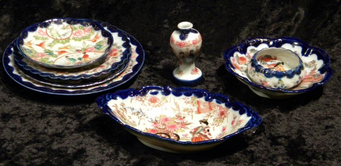 Miscellaneous Oriental Porcelain Items